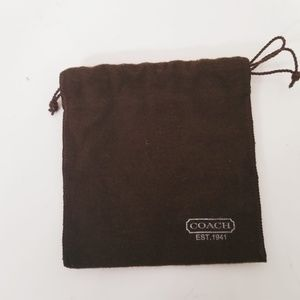 Coach Bracelet Bangle Jewelry Pouch Dustbag